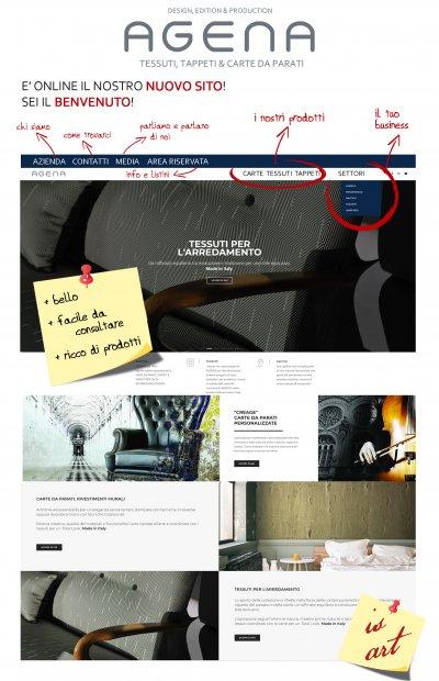 E' online il nostro nuovo sito. BENVENUTI !