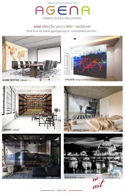 1000 ideas for your custom wallpanel.