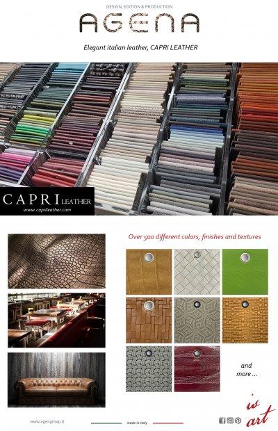 Elegant italian leather, CAPRI LEATHER